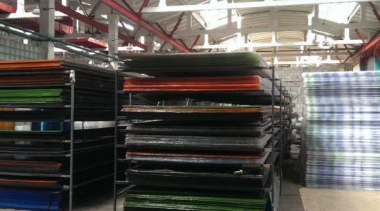 Фото склада фабрики теплиц Усадьба